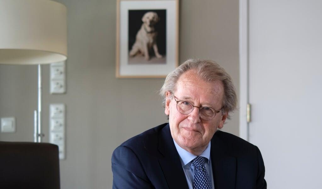 Jaap Smit, commissaris van de Koning in de provincie Zuid-Holland.  (beeld Dick Vos)