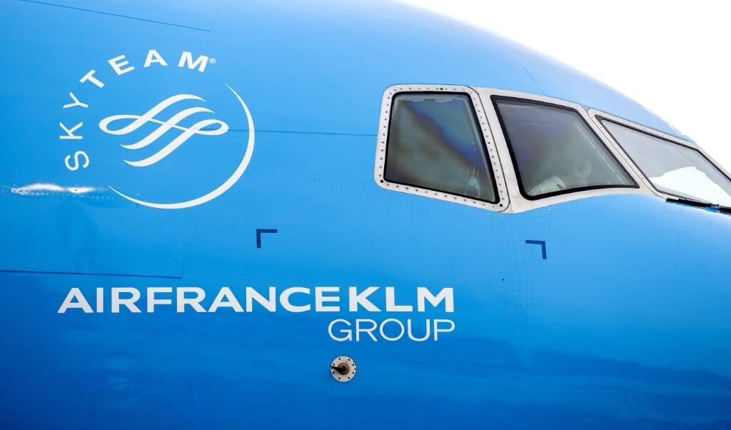 Bij KLM is alles op de zomer gericht, als mensen weer kunnen reizen.  (beeld anp / Koen van Weel)