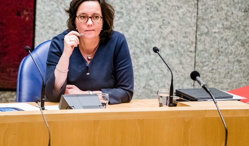 minister Tamara van Ark voor Medische Zorg  (beeld anp / Bart Maat)