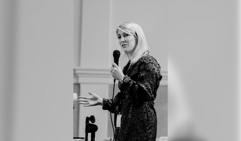 Jannica van Barneveld over bijbellezen.  (beeld Jannica van Barneveld)