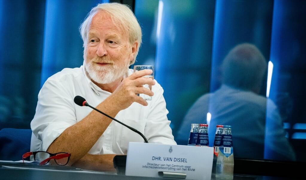 Jaap van Dissel 'doet precies wat wetenschappers horen te doen'.   (beeld anp / Bart Maat)