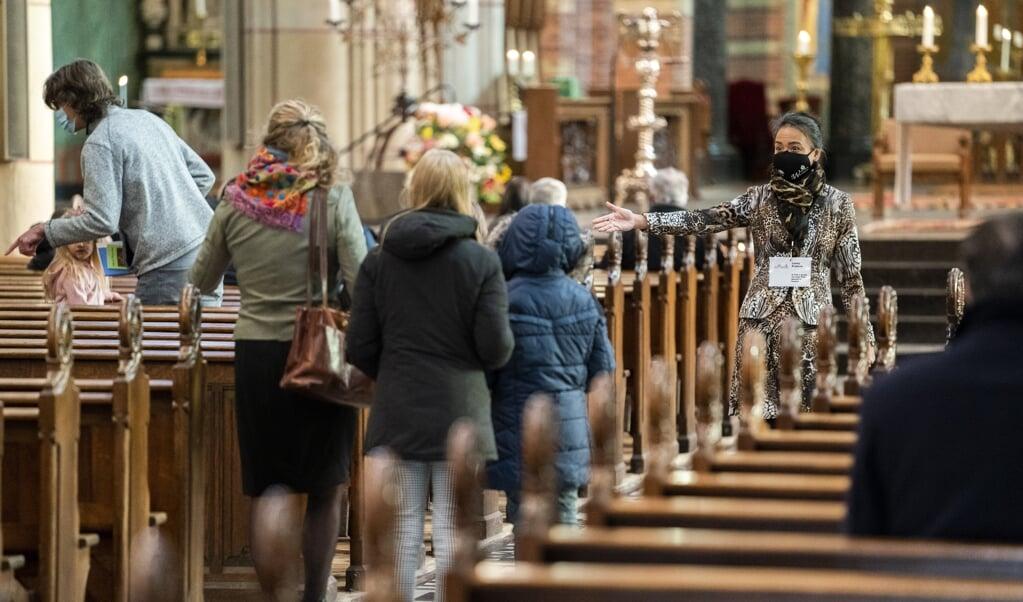 Arenda Haasnoot: 'Wie dien je nou in de kerk, je eigen naam of die van Christus?'  (beeld anp / Jeroen Jumelet)
