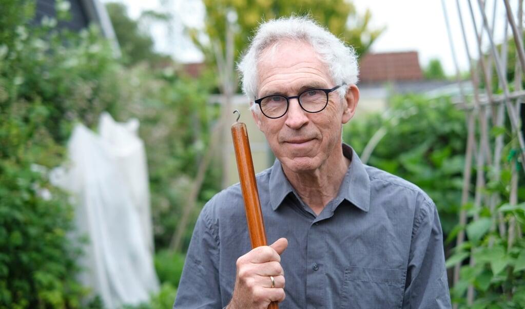 Emeritus predikant Sam Janse  (beeld Dick Vos)