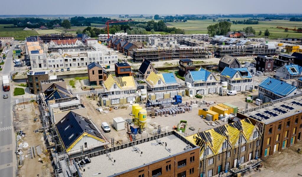 Nieuwbouwproject in Vathorst (Amersfoort).  (beeld anp / Sem van der Wal)