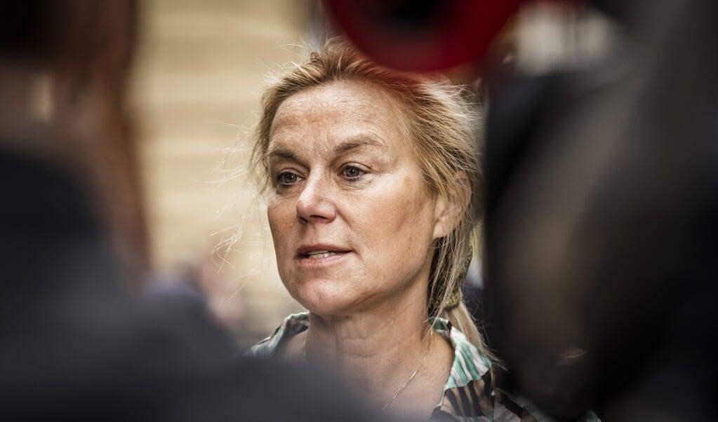 Sigrid Kaag, demissionair minister van Buitenlandse Handel en Ontwikkelingssamenwerking.  (beeld anp / Remko de Waal)