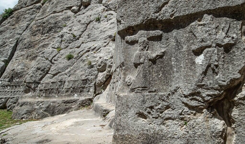 Het heiligdom is inmiddels door de Unesco erkend als cultureel erfgoed.  (beeld Eberhard Zangger)