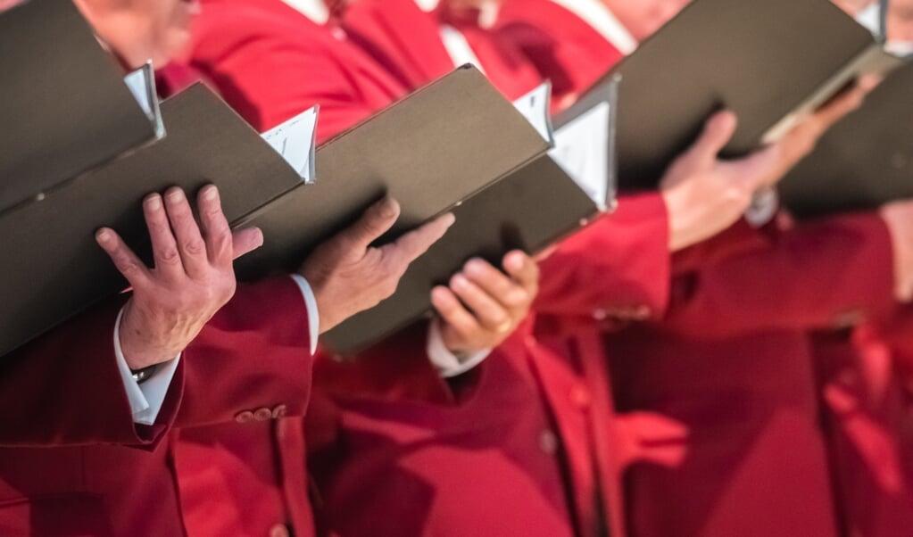 'Ik verwacht dat wij adviseren om nog even ingetogen te zingen. Gefaseerd opbouwen kunnen kerken denk ik wel gebruiken', zegt Henk Willem van Dorp.  (beeld getty)