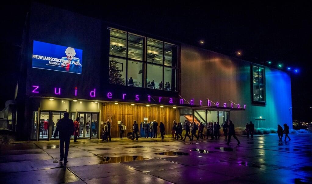 2018-01-05 00:00:00 DEN HAAG - Exterieur van het Zuiderstrandtheater. ANP KIPPA LEX VAN LIESHOUT  (beeld anp / Kippa Lex van Lieshout)
