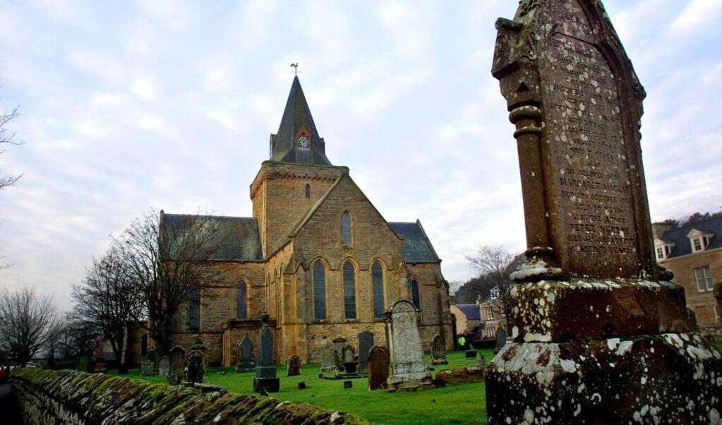 Church of Scotland in Dornoch.  (beeld afp / Adrian Dennis)