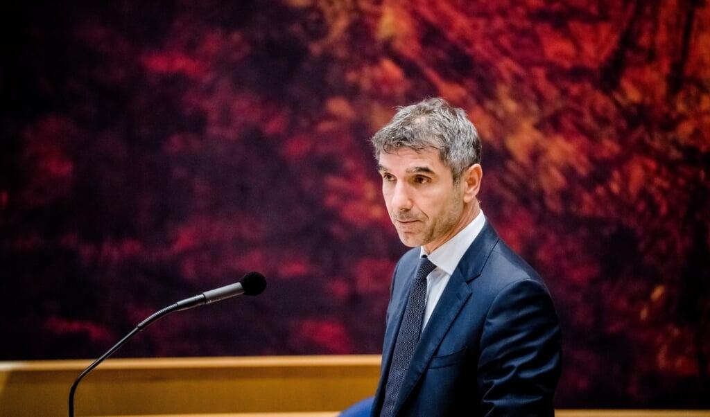 Demissionair Staatssecretaris Paul Blokhuis van Volksgezondheid, Welzijn en Sport.  (beeld anp / Bart Maat)