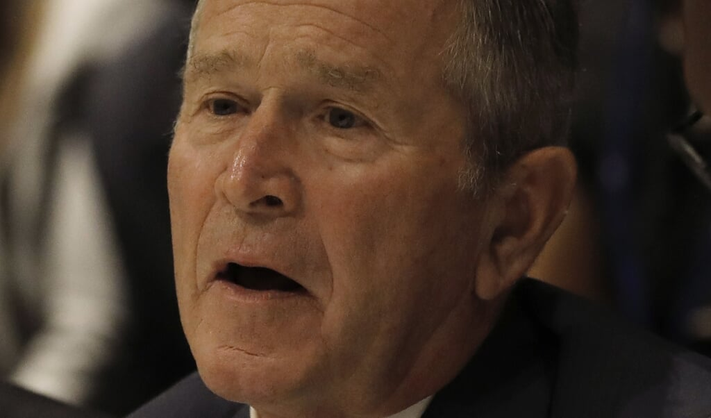 George W. Bush  (beeld epa / Peter Foley)