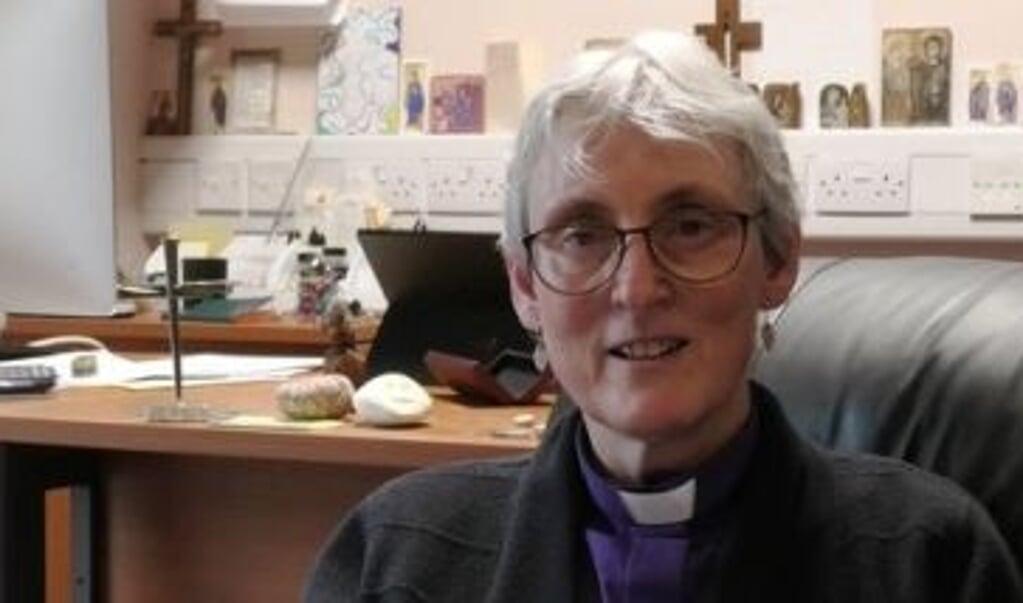 Bisschop Joanna Penberthy  (beeld Church in Wales)
