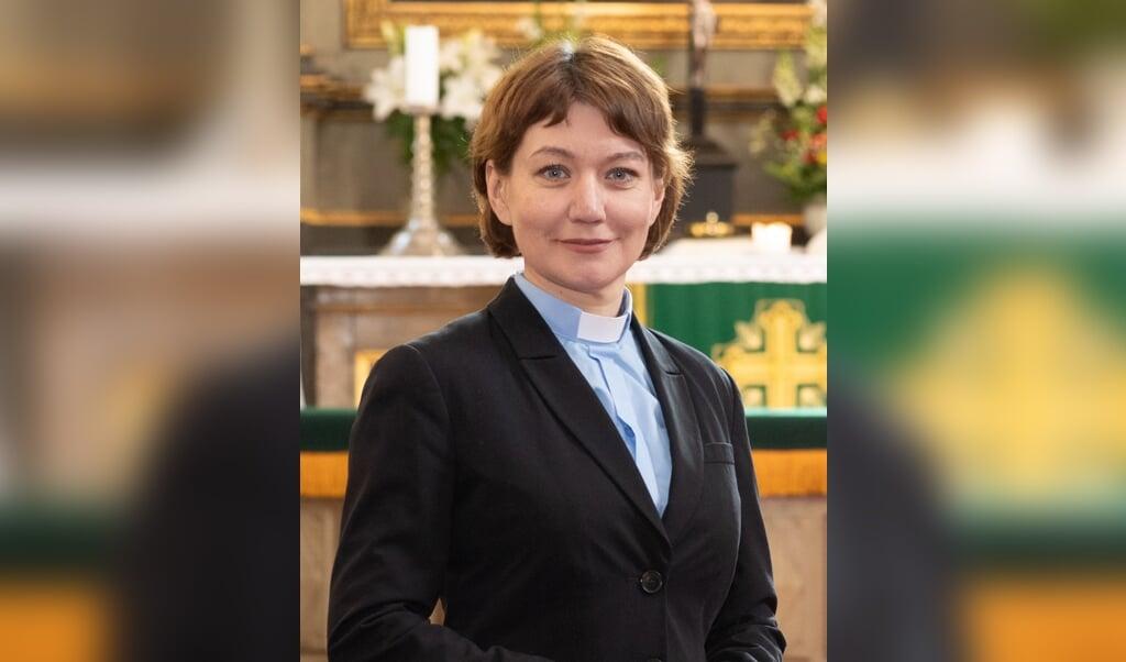 Anne Burghardt, de nieuwe vrouw aan de top van de Lutherse Wereldfederatie  (beeld Erik Peinar)