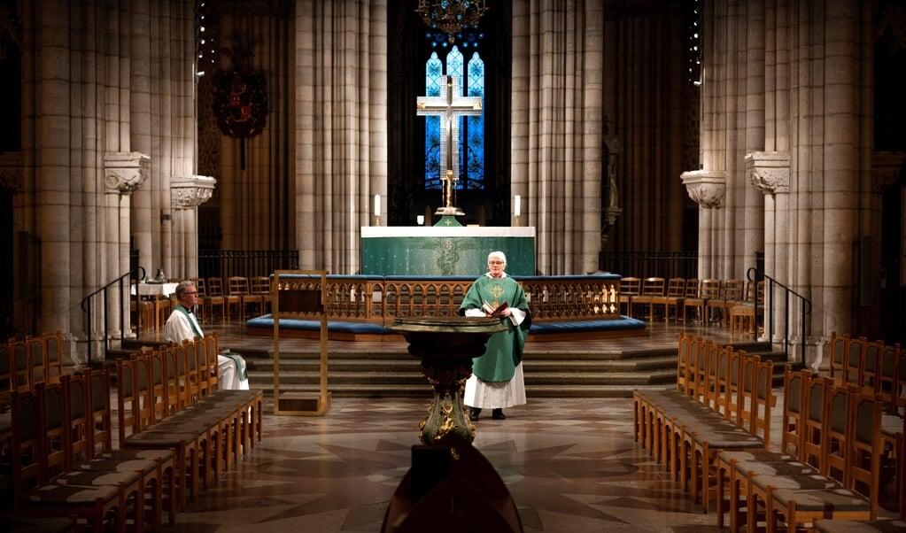 De inhoud van de open brief past bij eerdere ontwikkelingen in de progressieve kerkgemeenschap.  (beeld afp / Pontus Lundahl)
