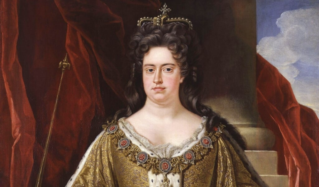 Koningin Anne  (beeld national portrait gallery)