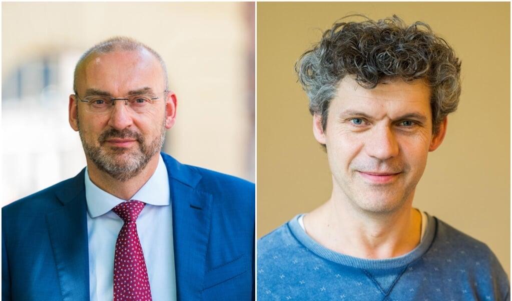 Roel Kuiper en Klaas Koelewijn  (beeld nd)