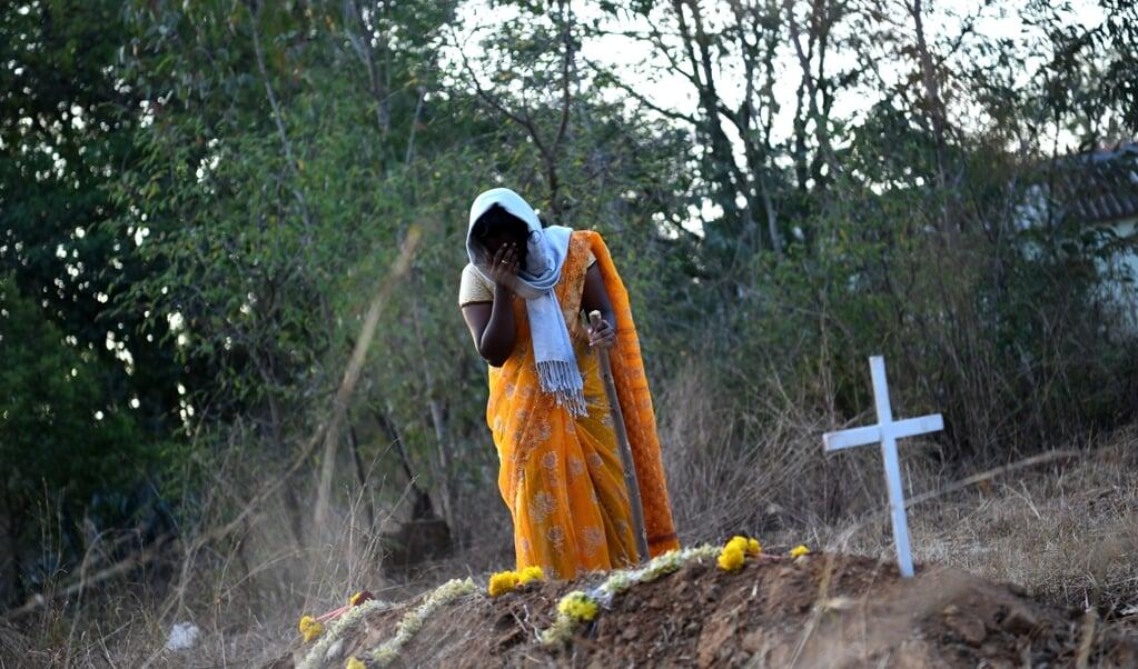 Kirti bekeerde zich met haar man tot het christelijk geloof. Hij moest het met de dood bekopen.?  (beeld Open Doors)