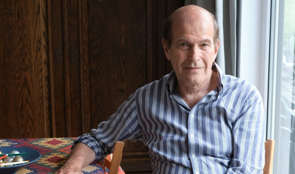 Ronny Naftaniel: 'Verdriet en boterkoek laat de kracht van het Jodendom zien.'  (beeld Dick Vos)