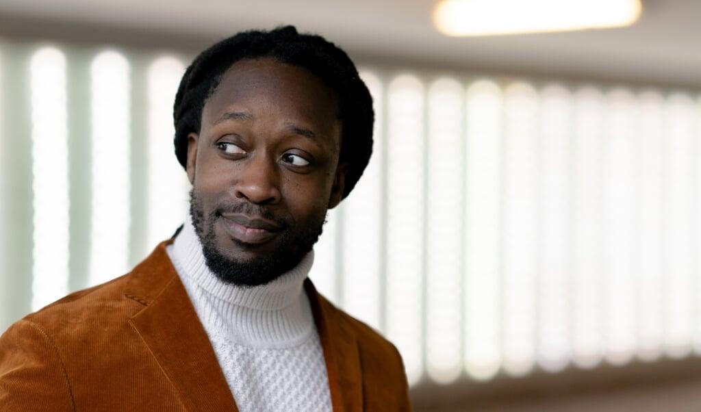 Rapper Akwasi  (beeld anp / Sander Koning)