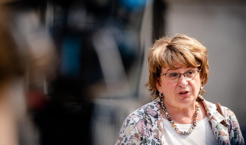Informateur Mariëtte Hamer haalt de deadline van 6 juni niet, geeft ze aan. Het is nog niet bekend welke partijen samen een coalitie kunnen vormen.  (beeld anp / Bart Maat)