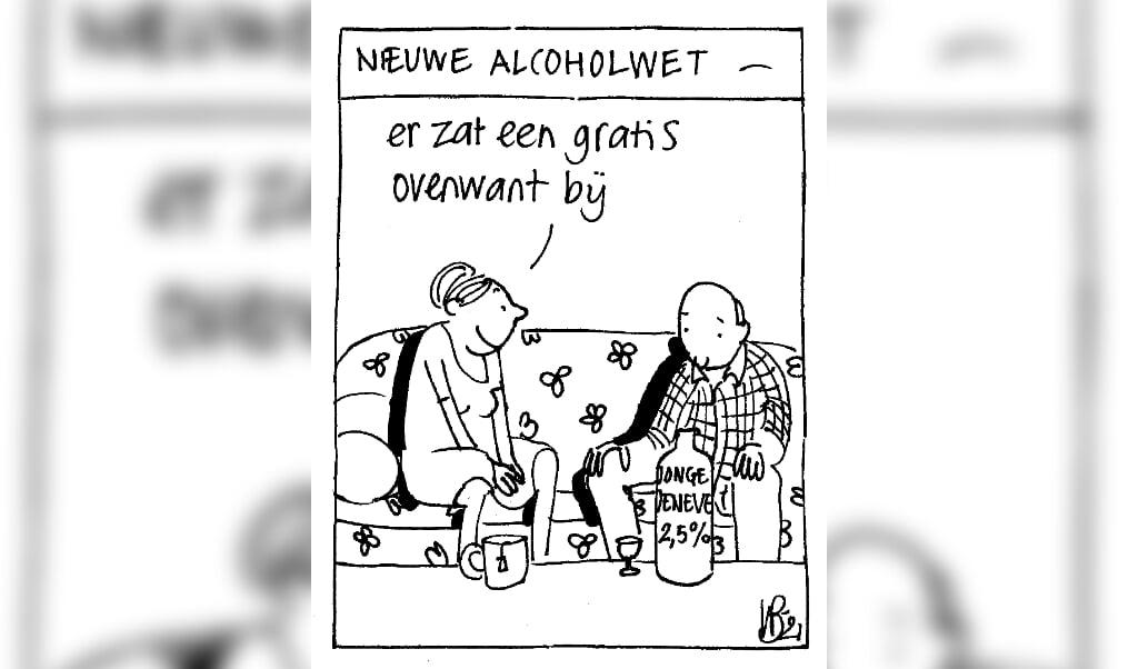 cartoon  (beeld Willeke)