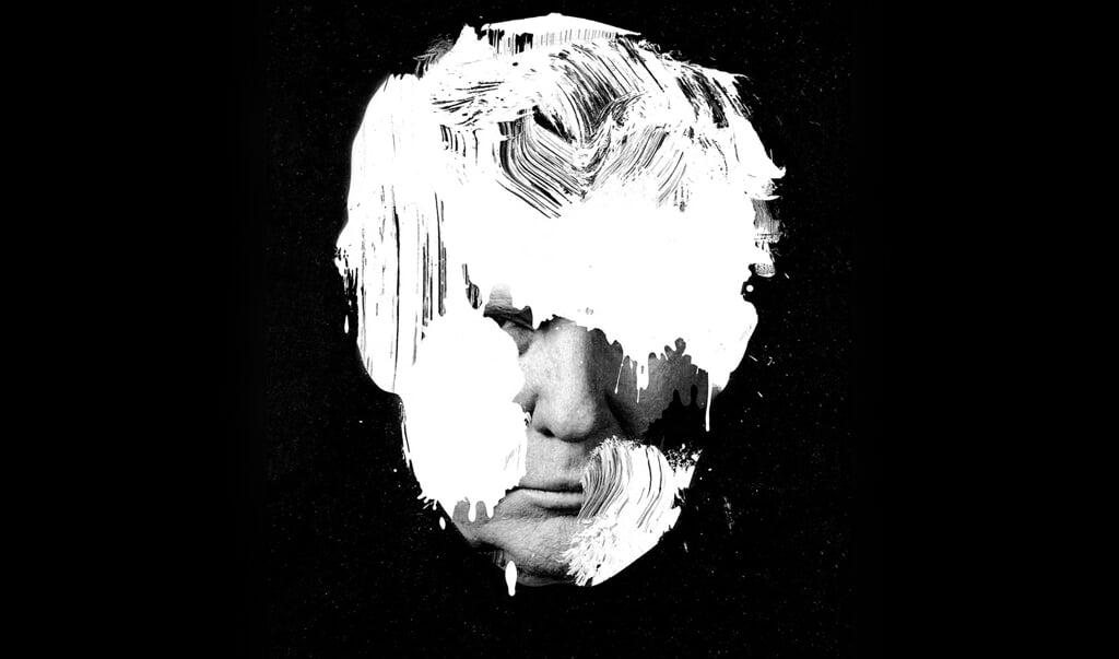 De Amerikaanse kunstenaar Jesse Draxler gaf in 2018 met 'White President' zijn kunstzinnige visie op Donald Trump.  (beeld Jesse Draxler)