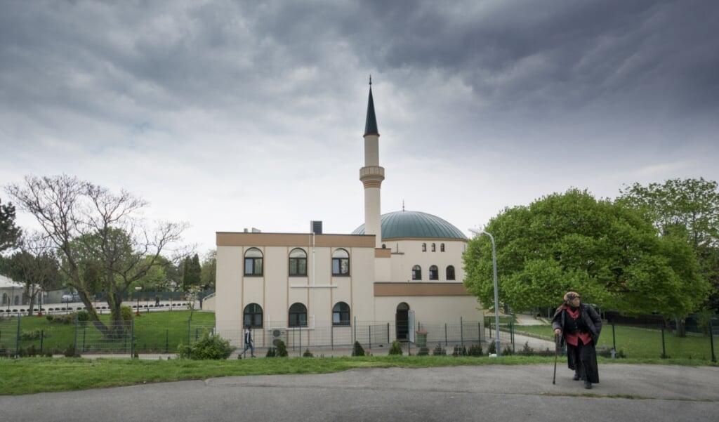 Het Islam Centrum in Wenen.  (beeld joe Klamar / afp)