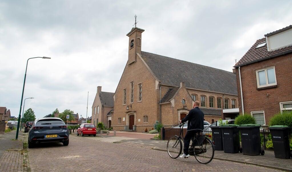 De Maranathakerk in Bunschoten-Spakenburg.  (beeld Hans-Lukas Zuurman)
