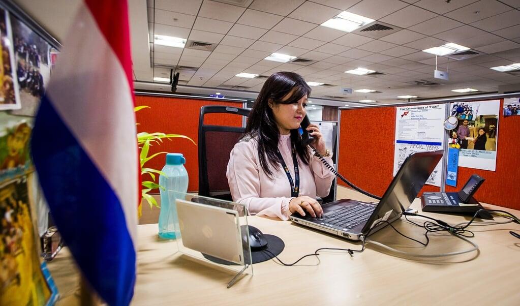 Een telemarketeer mag alleen nog mensen bellen die daar vooraf expliciet toestemming voor hebben gegeven.  (beeld anp / Remko de Waal)