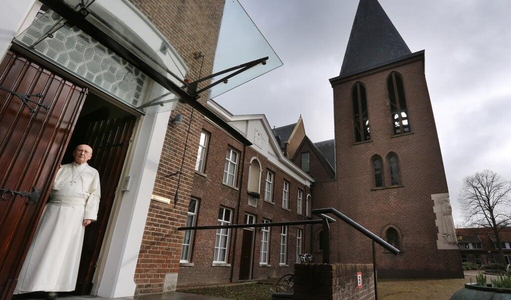 Abt Denis Hendrickx: 'Norbertus verzette zich tegen wat we nu de verburgerlijking van de kerk zouden noemen.'  (beeld Ramon Mangold)