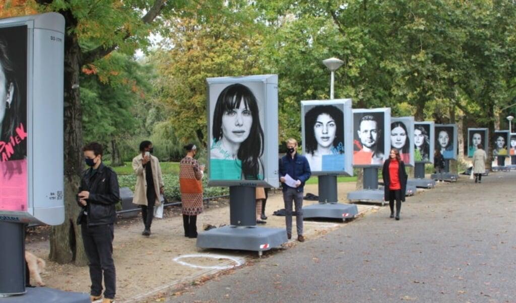 Open Mind stelde een reizende tentoonstelling samen over depressiviteit.   (beeld nd)