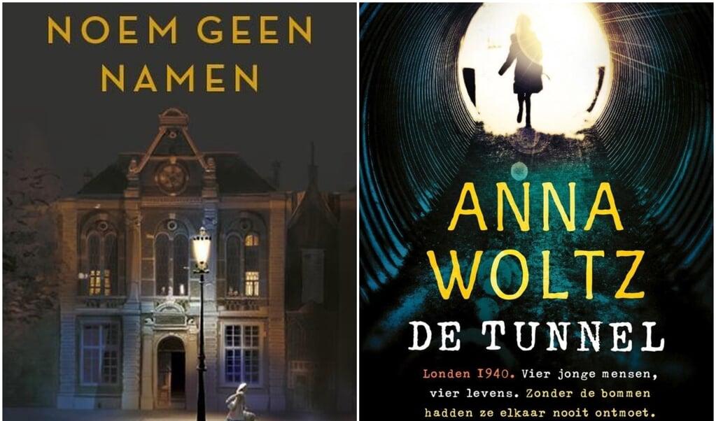 Noem Geen Namen van Astrid Sy en De Tunnel van Anna Woltz.  (beeld nd)