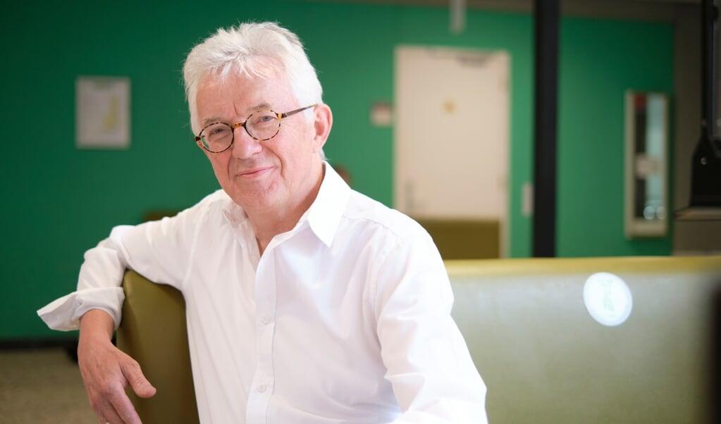 Marc De Kesel, hoogleraar theologie aan de Radboud Universiteit en wetenschappelijk medewerker aan het Titus Brandsma Instituut.  (beeld Dick Vos)
