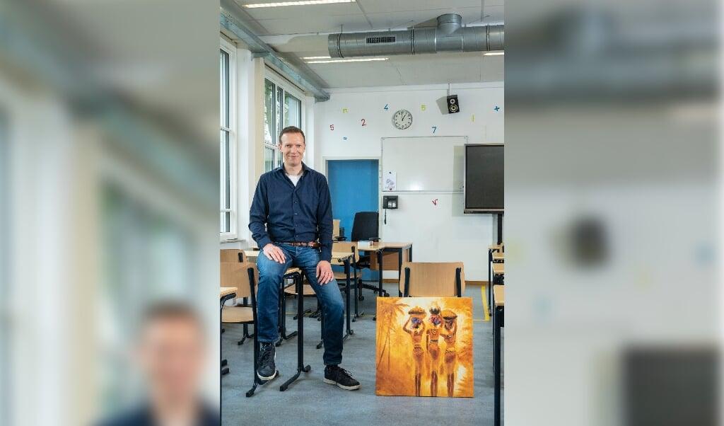 Leo van Rees, voormalig predikant, nu docent wiskunde  (beeld Kees de Winter)