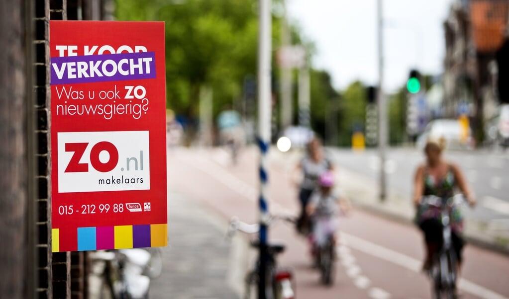 Van de 252 gemeenten die een starterslening aanbieden, hebben 72 gemeenten de voorwaarden dit jaar versoepeld.  (beeld anp / Guus Schoonewille)