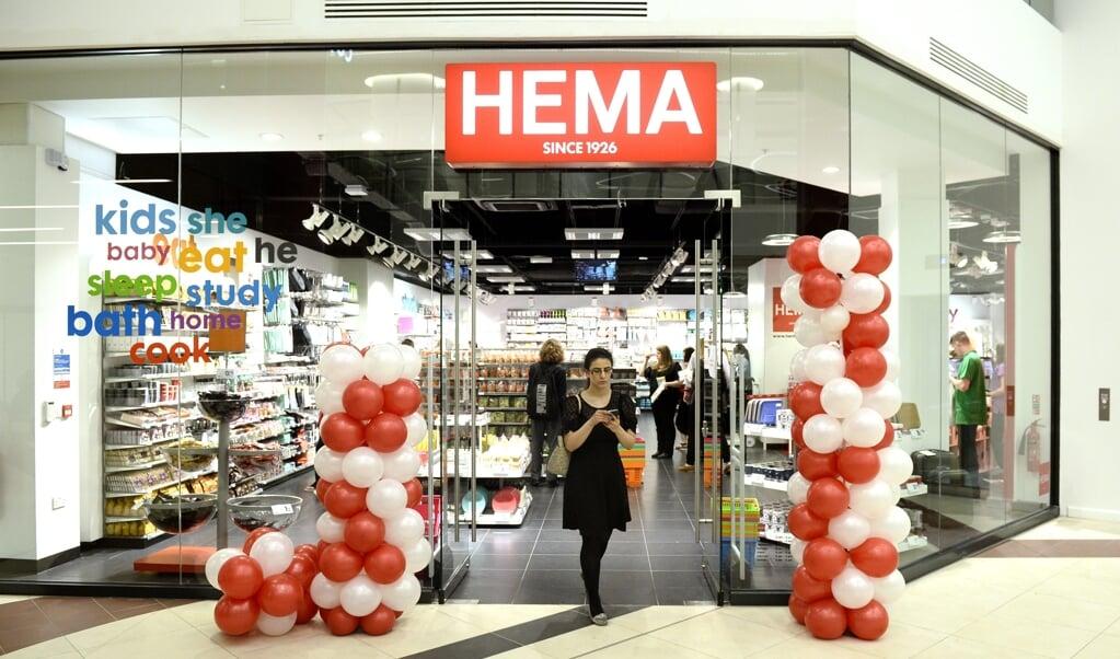 De eerste Hema in Londen, 2014.  (beeld epa / Facundo Arrizabalaga)