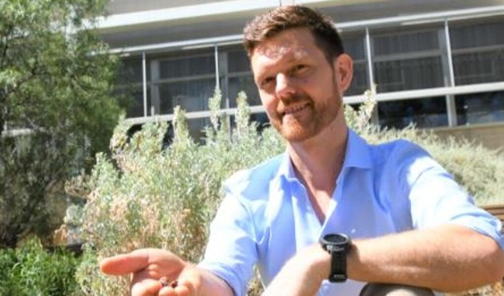 Dr. Martin Breed, ecoloog aan Flinders University in Australië.  (beeld Flinders University)