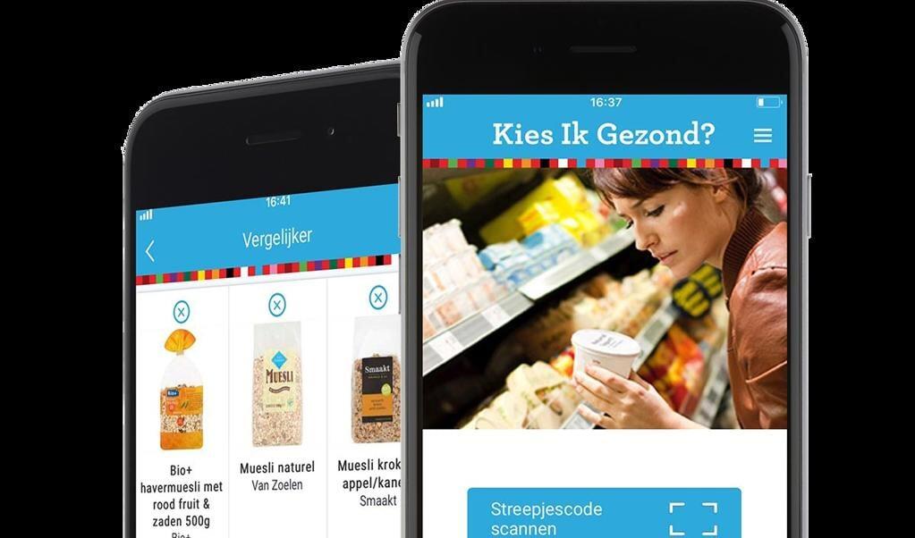 Het Voedingscentrum heeft verschillende apps gemaakt.  (beeld nd)