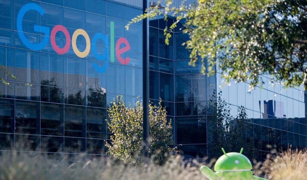 Google-hoofdkantoor in Californië.  (beeld afp / Josh Edelson)