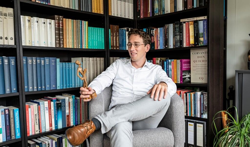 Dominee Cees-Jan Smits.  (beeld Martin Waalboer)