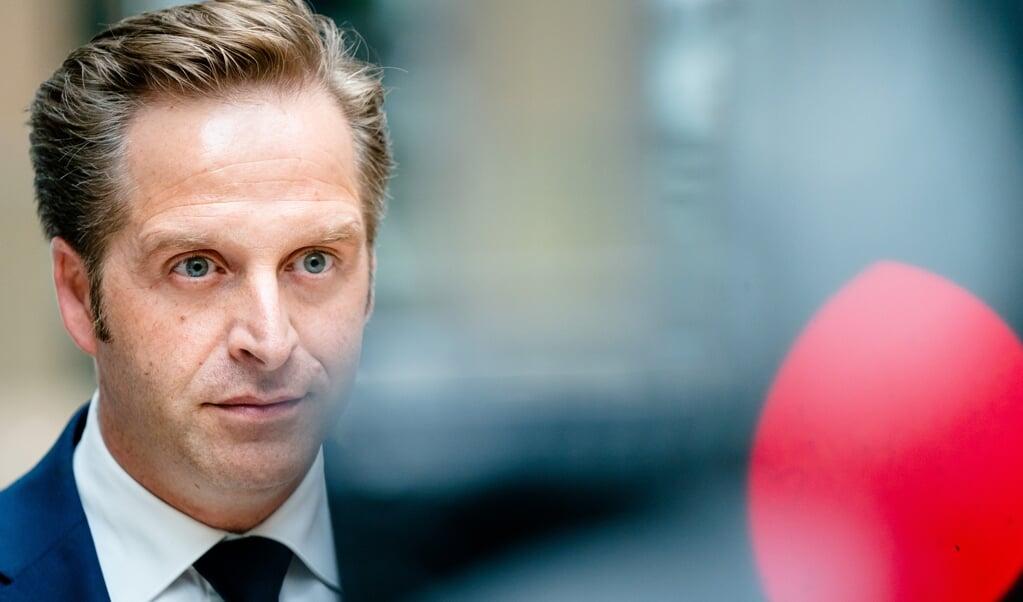 Demissionair minister Hugo de Jonge (Volksgezondheid, Welzijn en Sport).  (beeld anp / Bart Maat)