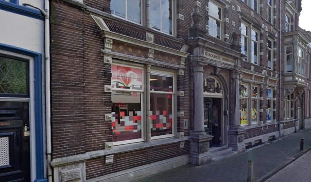 De Theologische Universiteit in Kampen  (beeld google maps)