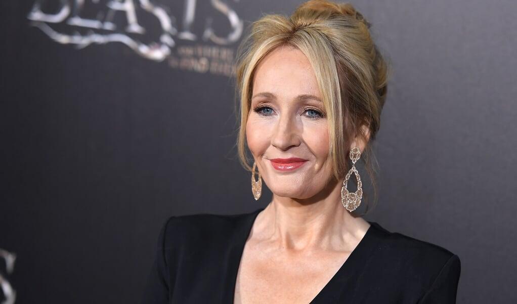 Schrijfster J.K. Rowling  (beeld afp / Angela Weiss)