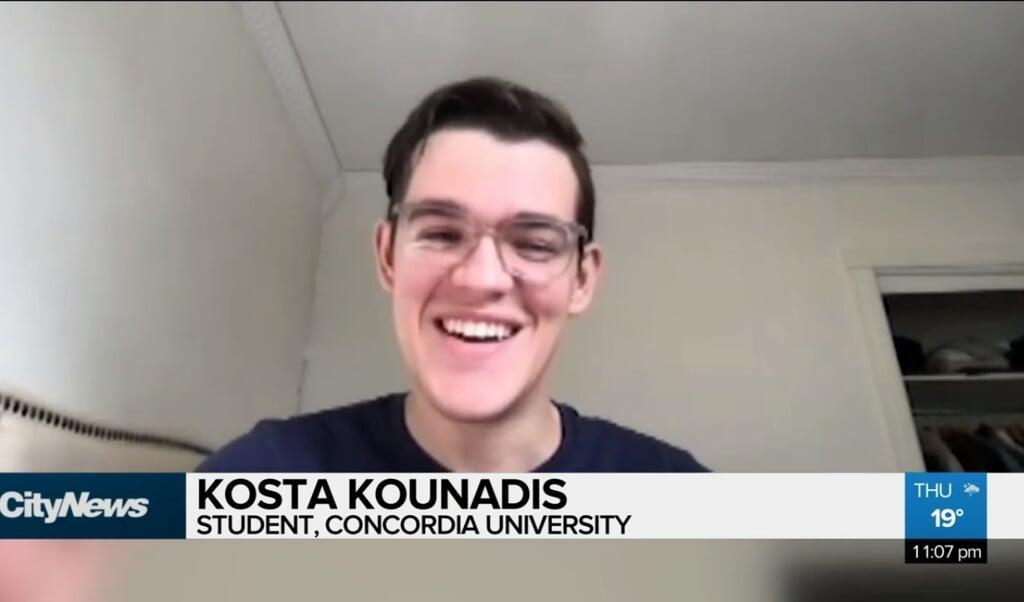Kosta Kounadis  (beeld montreal citynews)