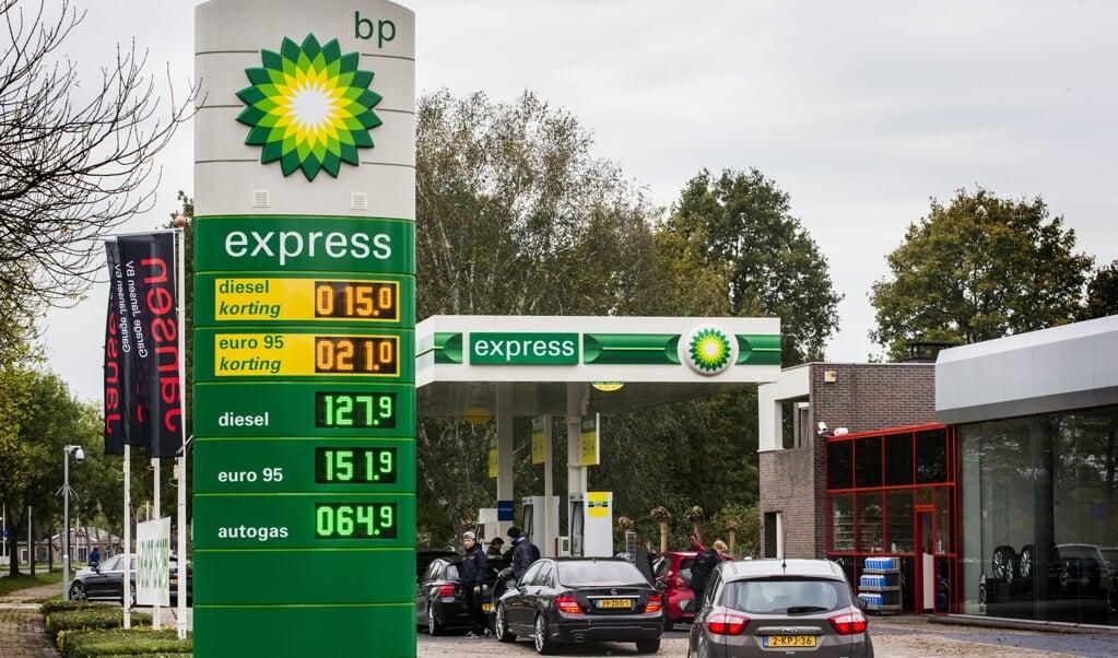 In het Europees Parlement keren zowel de liberalen als de Groenen zich tegen het beprijzen van de CO2-uitstoot van benzine, diesel en gas. Volgens de Groenen is het een te bot middel.  (beeld anp / Vincent Jannink)