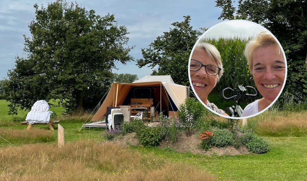 Aan de Ketting: Mattie Meints en Elly Kamphuis  (beeld ND)