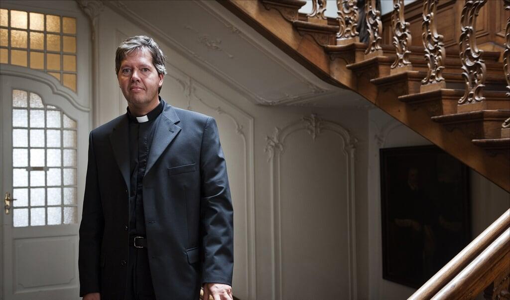 Hulpbisschop van het bisdom 's-Hertogenbosch Robertus Mutsaerts.  (beeld anp / Erik van 't Woud)