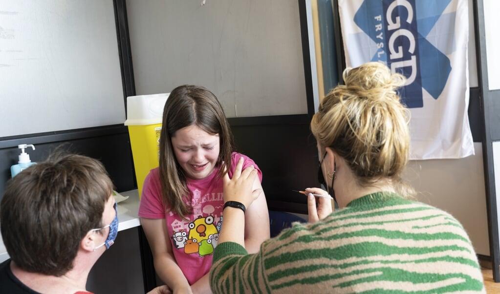 Eind mei werd het Pfizer-vaccin al goedgekeurd voor gebruik bij tieners.  (beeld anp / Jaap Schaaf)