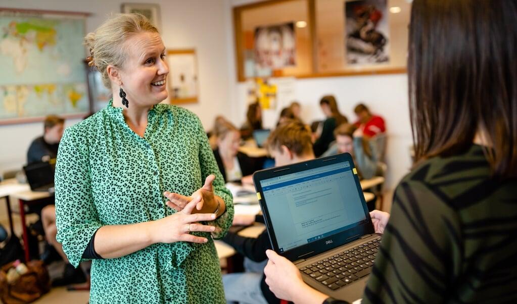 Beginnende docenten meer begeleiding geven, is een van de doelen van de nieuwe alliantie.   (beeld Jan Verburg )