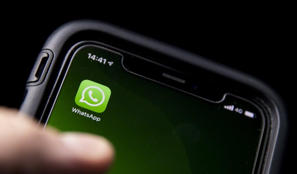 WhatsApp zou 'onnodige druk op consumenten' leggen.  (beeld anp / Koen van Weel)